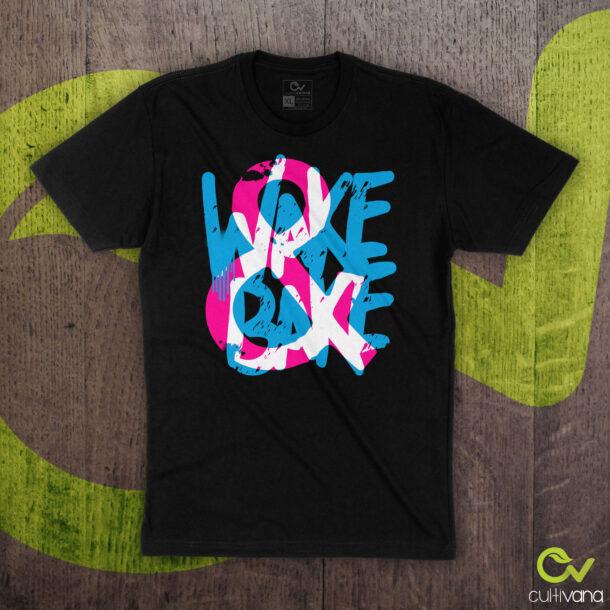 Wake & Bake T Shirt Black